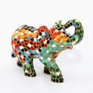 Mosaiktier Elefant