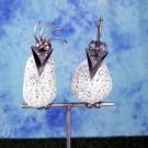 Steinvogelpaar auf Stab SV 440