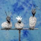 Steinvogelpaar mit Kind SV 460