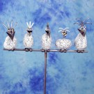 Steinvogelfamilie am Stab SV 490